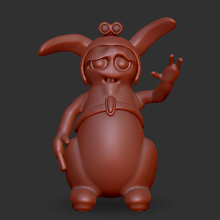 Space Rabbit Wip